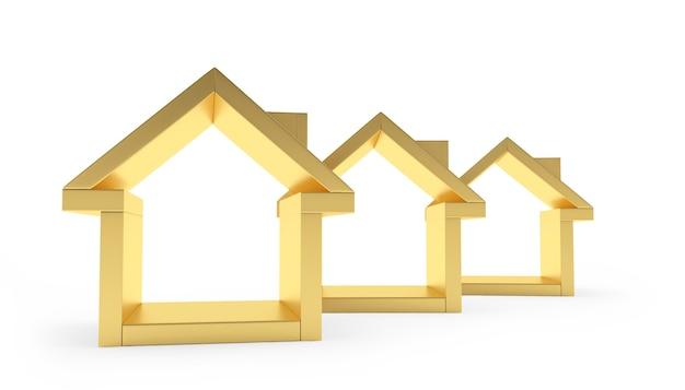 Золотые символы домов