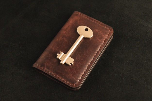 The golden key is on the old wallet