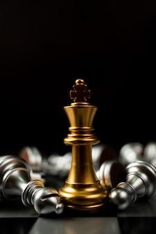 Golden king chess занимает последнее место на шахматной доске
