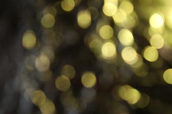 Golden Lighting Effect Background