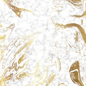 黄金の大理石のテクスチャの背景