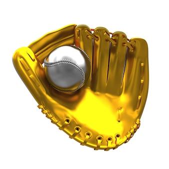 Golden mitt