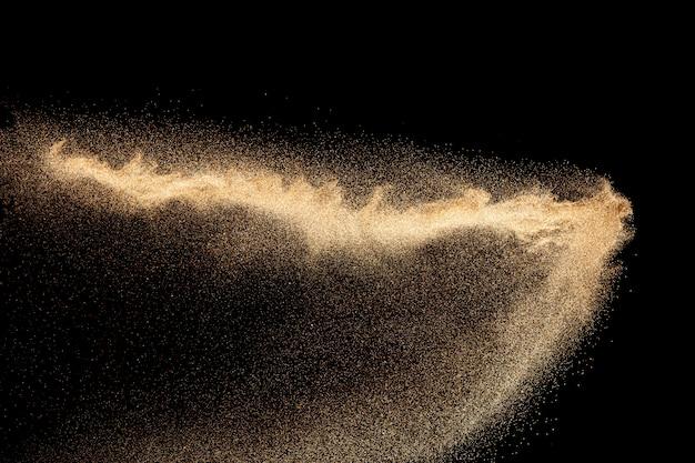 黄金の砂の爆発の背景