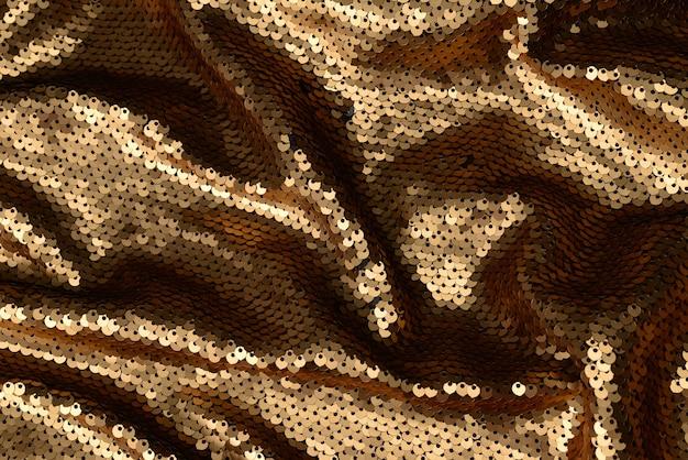 Текстура ткани золотые блестки