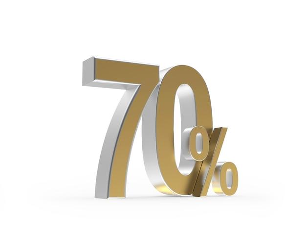 Золотая скидка семьдесят процентов