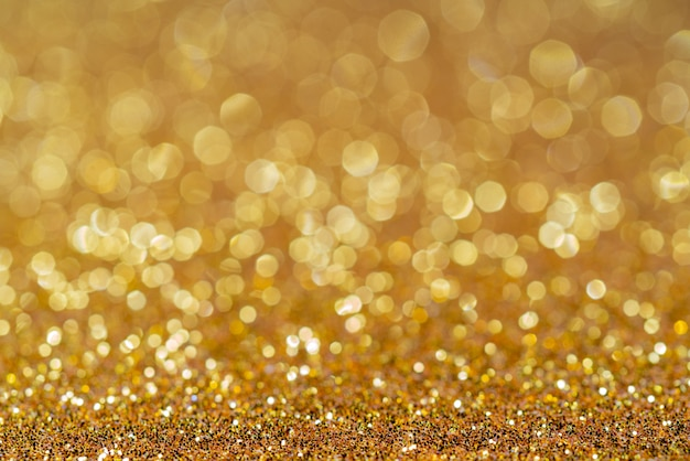Golden shiny festive christmas background