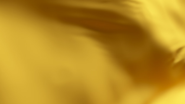 Поверхность ткани золотой шелковой волны. абстрактный мягкий фон.