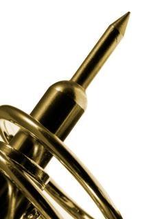Golden soldering iron tip  pen