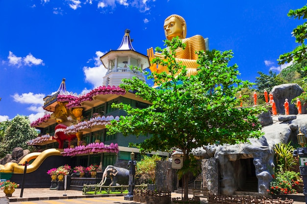Golden temple in dambulla
