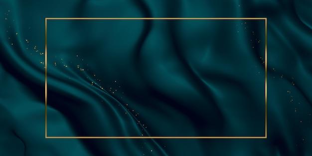 Золотой текстовый фрейм текстуры фона блестящие полосы 3d иллюстрации