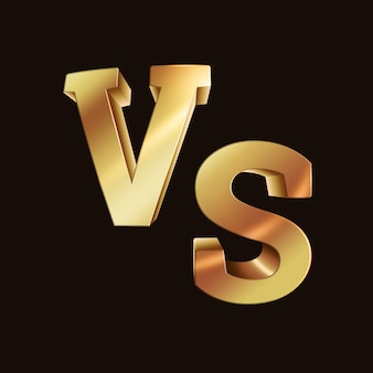 Golden versus logo