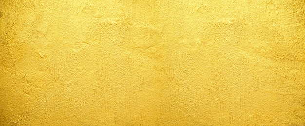 Golden wall texture background for  old golden brick wall rough surface.