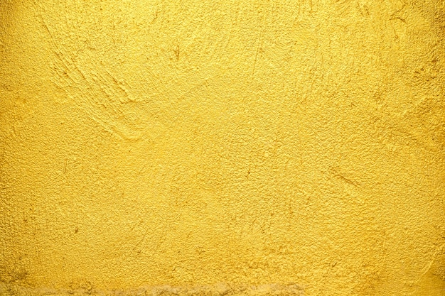 Golden wall texture background.