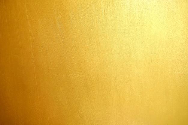Golden wall texture background