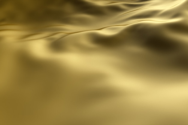 Golden wave background