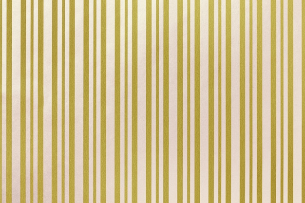 Golden and white background from wrapping striped paper.