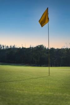 시골의 골프 코스