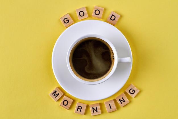 좋은 아침 개념.