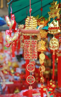 中国の新年の間に発売中のgoodluckアイテム