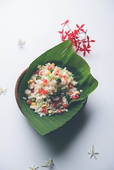 Gopalkala or dahi kala is a prashad offered to lord krishna on janmashtami or gokulashtami. made using beaten rice, curd, milk, sugar, pomegranate, chilli , pickle and coriander