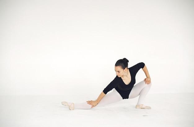 Gorgeous ballet dancer. ballerina in pointe.