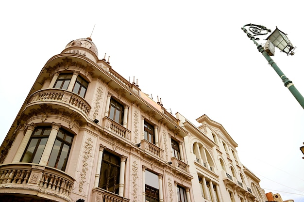 Gorgeous building on the plaza san francisco square of la paz, the capital city of bolivia