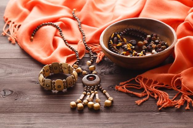 Gorgeous semiprecious stone beads for making jewelry