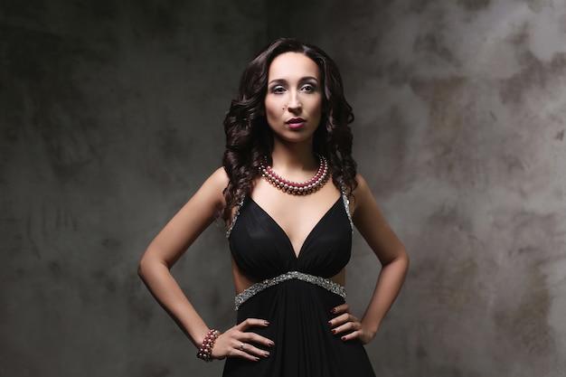 Gorgeous woman posing