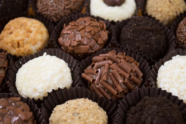 Gourmet fudge balls
