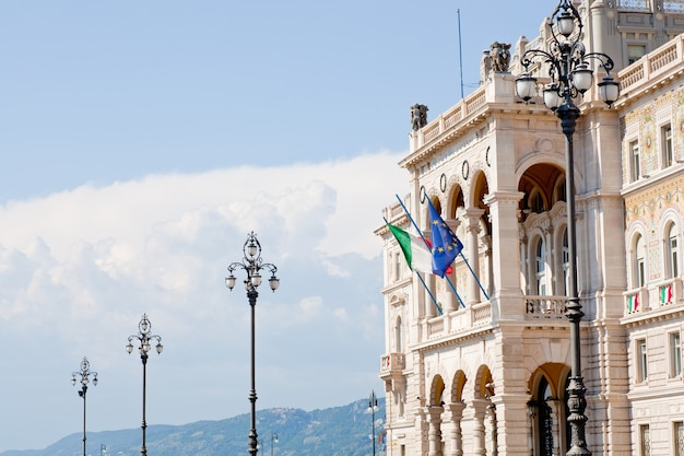 Governament house in trieste