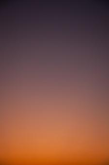 Gradation sky.