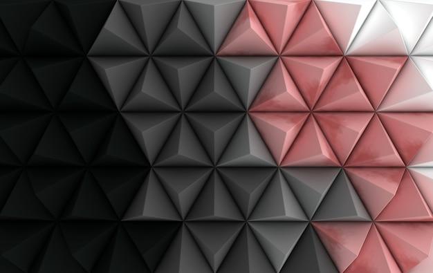 グラデーションの幾何学的レンダリング