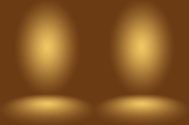 あなたのテキストと画像のためのスペースを持つグラデーションの抽象的な背景の空の部屋。