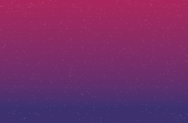 Gradient background with stars purple and dark pink 3d rendering.