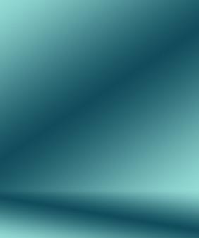 Градиент синий абстрактный фон гладкий темно-синий с черной виньеткой студия