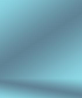 Gradient blue abstract background. smooth dark blue with black vignette studio.