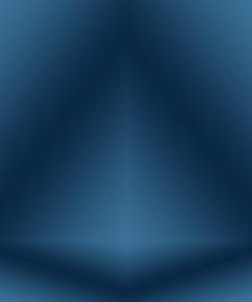 Sfondo astratto blu sfumato. liscio blu scuro con vignettatura nera studio