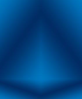 Градиент синий абстрактный фон. гладкий темно-синий с черной виньеткой studio.