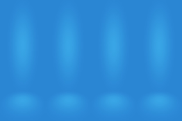 Sfondo astratto blu sfumato. liscio blu scuro con vignetta nera studio.