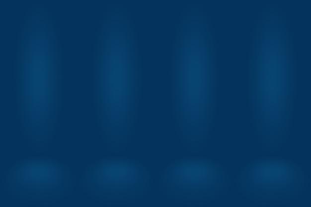 グラデーションブルーの抽象的な背景。