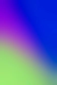 Gradient of blue colors