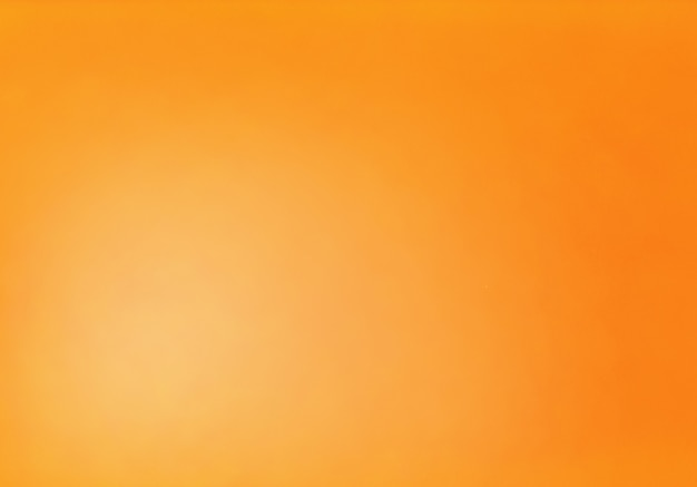 Gradient color orange abstract background