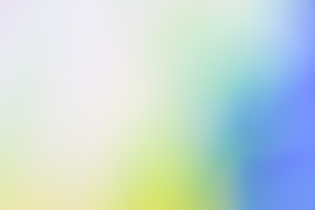 Gradient defocused abstract photo smooth color background