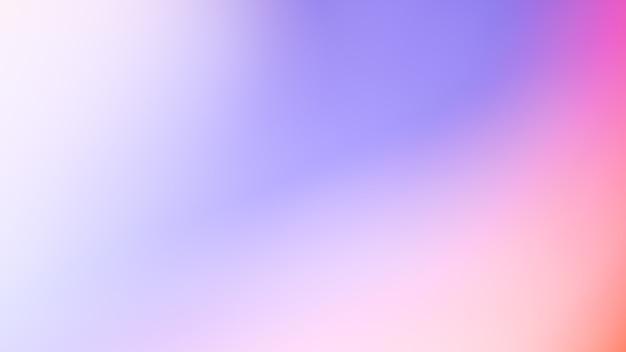 Градиент расфокусированного абстрактного фото гладкий розовый и синий цвет фона