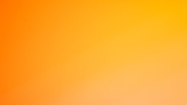 Gradient defocused abstract photo smooth yellorw color background