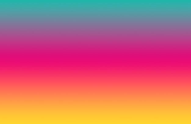 추상적 인 배경을위한 그라디언트 멀티 컬러 가로 줄무늬