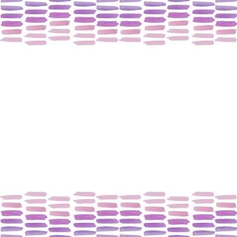 Gradient pink violet purple brush stroke watercolor painting