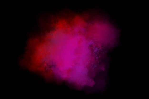 Gradient smoke abstract background