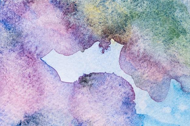 그라데이션 바이올렛 수채화 복사 공간 패턴 배경