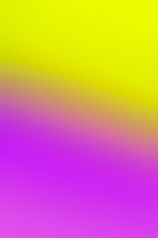 Gradient of yellow and purple